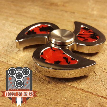 Stainless Steel Swirl Tri