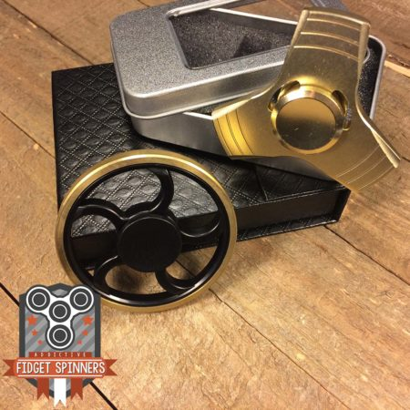 EDC Wagon Wheel and Propeller Fidget Spinner Bundle