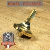 EDC Strato Faceted Metal Top (Brass)labeled