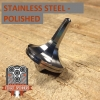 EDC Strato Faceted Metal Top (Stainless Steel Polished)labeled