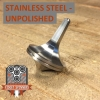 EDC Strato Faceted Metal Top (Stainless Steel Unpolished)labeled