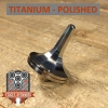 EDC Strato Faceted Metal Top (Titanium Polished)labeled